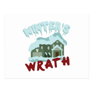 House Winters Wrath Postcard