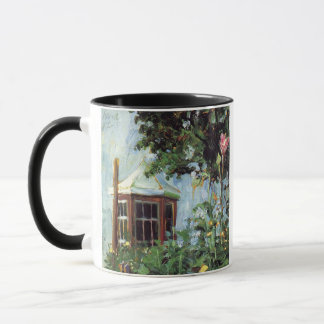 House with a Bay Window in the Garden Mug