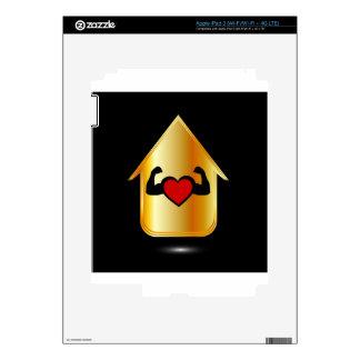 House with a healthy heart iPad 3 skin
