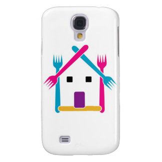 House with forks galaxy s4 case