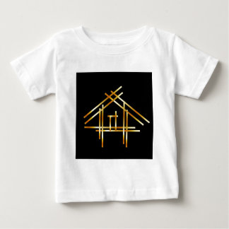 House with golden sticks baby T-Shirt