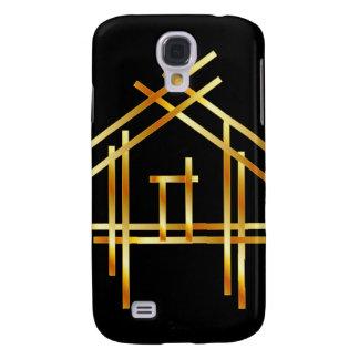House with golden sticks samsung galaxy s4 case