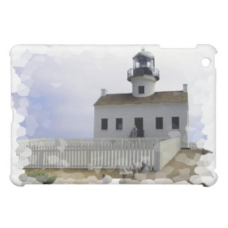 House with Lighthouse iPad Case