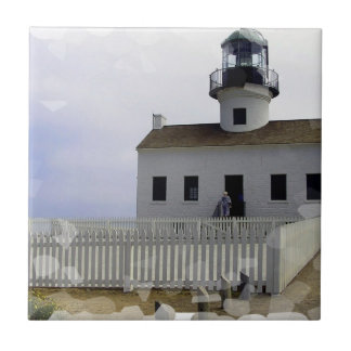 House with Lighthouse Tile