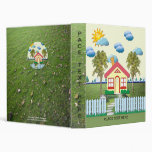 House with Picket Fence Binder