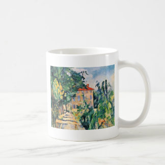 House With Red Roof By Paul Cézanne (Best Quality) Mug