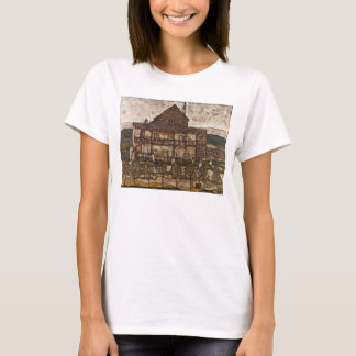 House with Shingle Roof by Egon Schiele T-Shirt