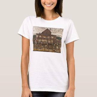 House with Shingle Roof by Egon Schiele T-Shirt