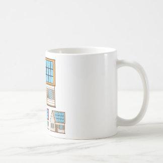 House with Solar Panels Coffee Mug