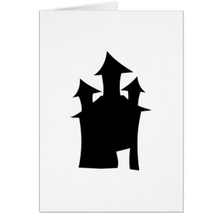 House with Three Towers. Card