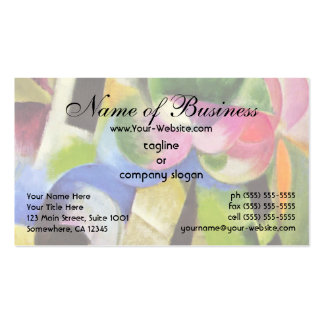 House with Trees by Franz Marc Business Card