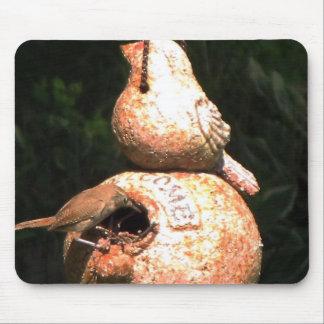 House Wren Bird House Mousepads