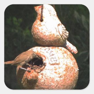 House Wren Bird House Sticker
