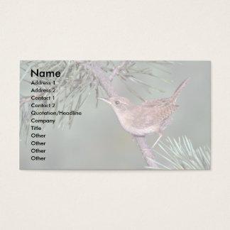 House Wren Business Card