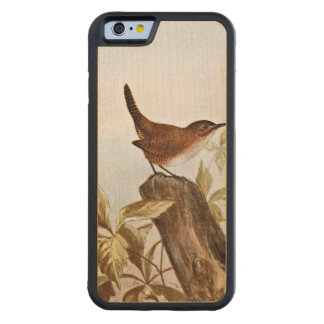 House Wren Carved Maple iPhone 6 Bumper Case