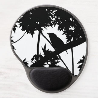House Wren Silhouette Love Bird Watching Gel Mouse Pad