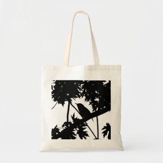 House Wren Silhouette Love Bird Watching Tote Bag