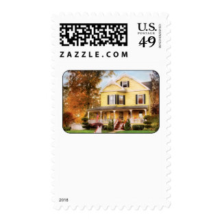 House - Yellow Lace -  Dream House Stamp