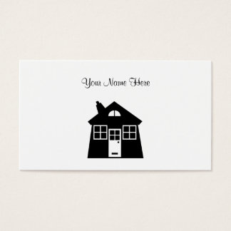 House, Your Name Here Business Card