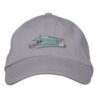 Houseboat Embroidered Baseball Cap