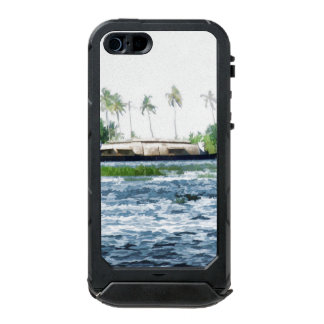 Houseboat in Kerala in saltwater lagoon Incipio ATLAS ID™ iPhone 5 Case