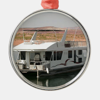 Houseboat, Lake Powell, Arizona, USA 5 Metal Ornament