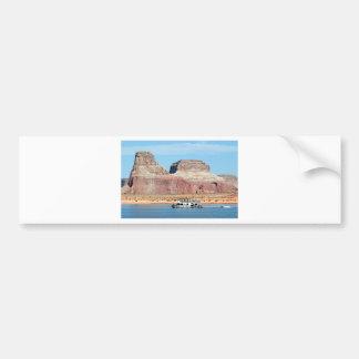 Houseboat, Lake Powell, Arizona, USA 6 Bumper Sticker