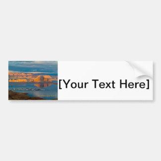 Houseboat Lake Powell Bumper Sticker