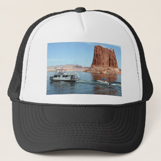 Houseboat, Lake Powell, USA Trucker Hat