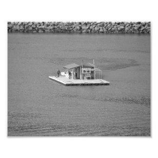 Houseboat Photo Print