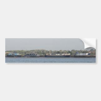 Houseboats Car Bumper Sticker