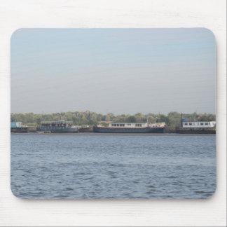 Houseboats Mouse Pad
