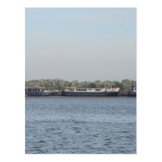 Houseboats Postcard