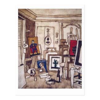 Housebreaking (atelier) postcard