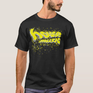 HouseCircles Yellow-Grey T-Shirt