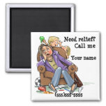 Housecleaning service reminder magnet custom