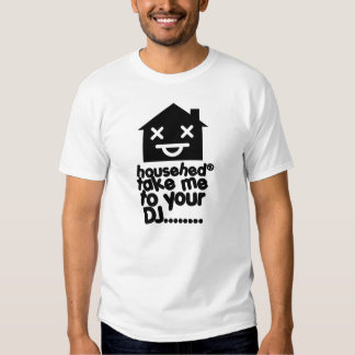 housed out house music basic t-shirt