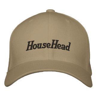 HouseHead Cap Embroidered Baseball Caps