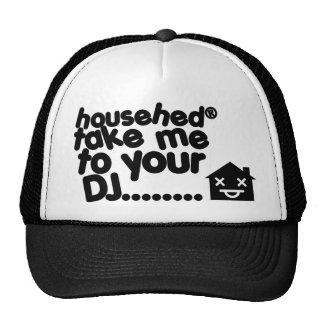 househed trucker cap house music trucker hat