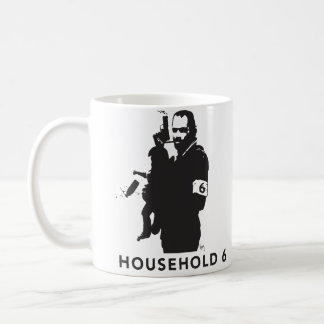 Household 6, the manliness of Mr. Mom Classic White Coffee Mug