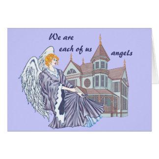Household Angel Greeting Card