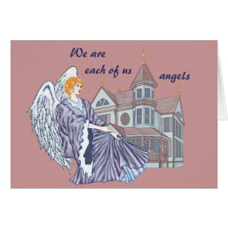 Household Angel Greeting Cards