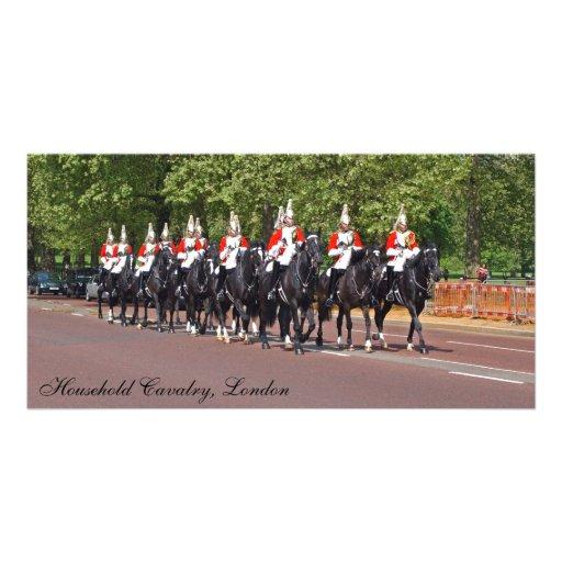 Household Cavalry Photo Card