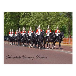 Household Cavalry Postcard