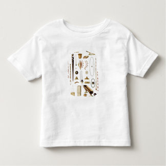 Household utensils and weapons from the Mariannas Toddler T-shirt