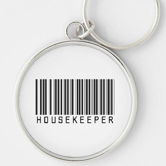 Housekeeper Bar Code Keychain