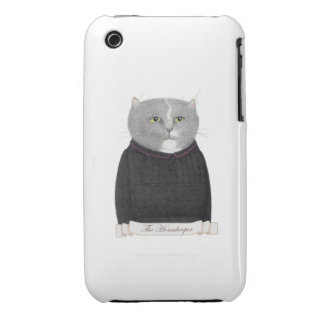 Housekeeper Cat iPhone 3G/3GS Case iPhone 3 Case-Mate Cases