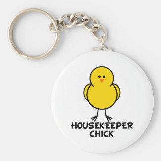 Housekeeper Chick Key Chains