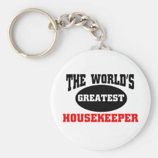 Housekeeper Key Chains