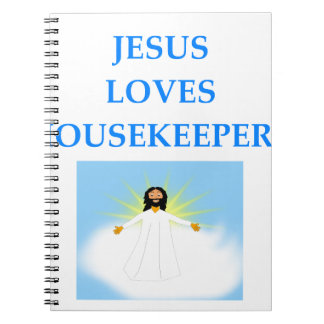 HOUSEKEEPER SPIRAL NOTEBOOK